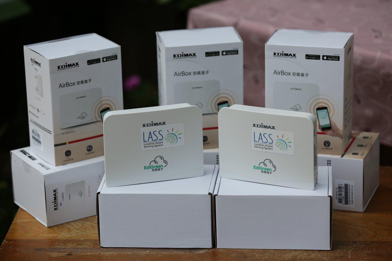 新竹市政府計畫將增設空氣盒子微型感測器,主要用在交通要道、醫院、人口聚落及各級學...