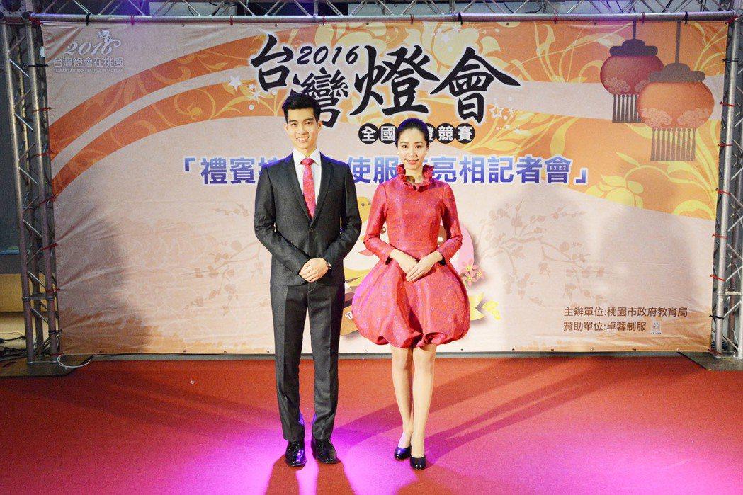 銘傳大學擁有多年參加國慶大典的歷史,去年參加台灣燈會接待。圖/銘傳大學提供