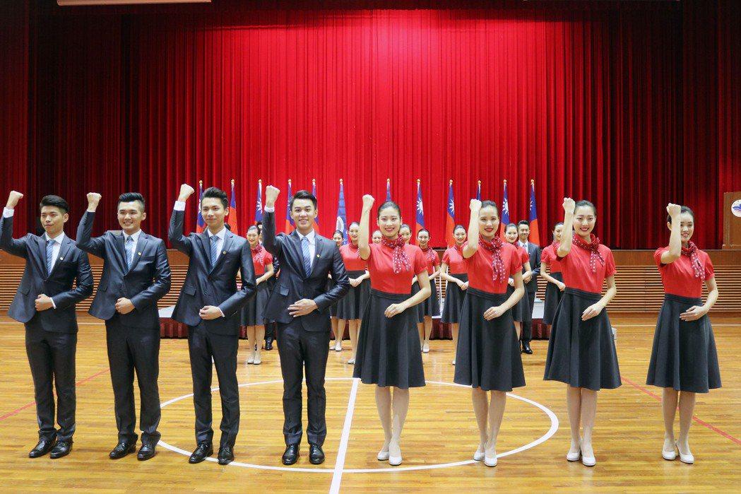 銘傳大學擁有多年參加國慶大典的歷史,今年依舊受邀參加國慶大典。圖/銘傳大學提供