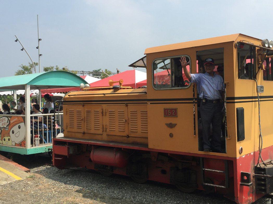 台糖五分車新營站到中興站將復駛。記者吳政修/攝影