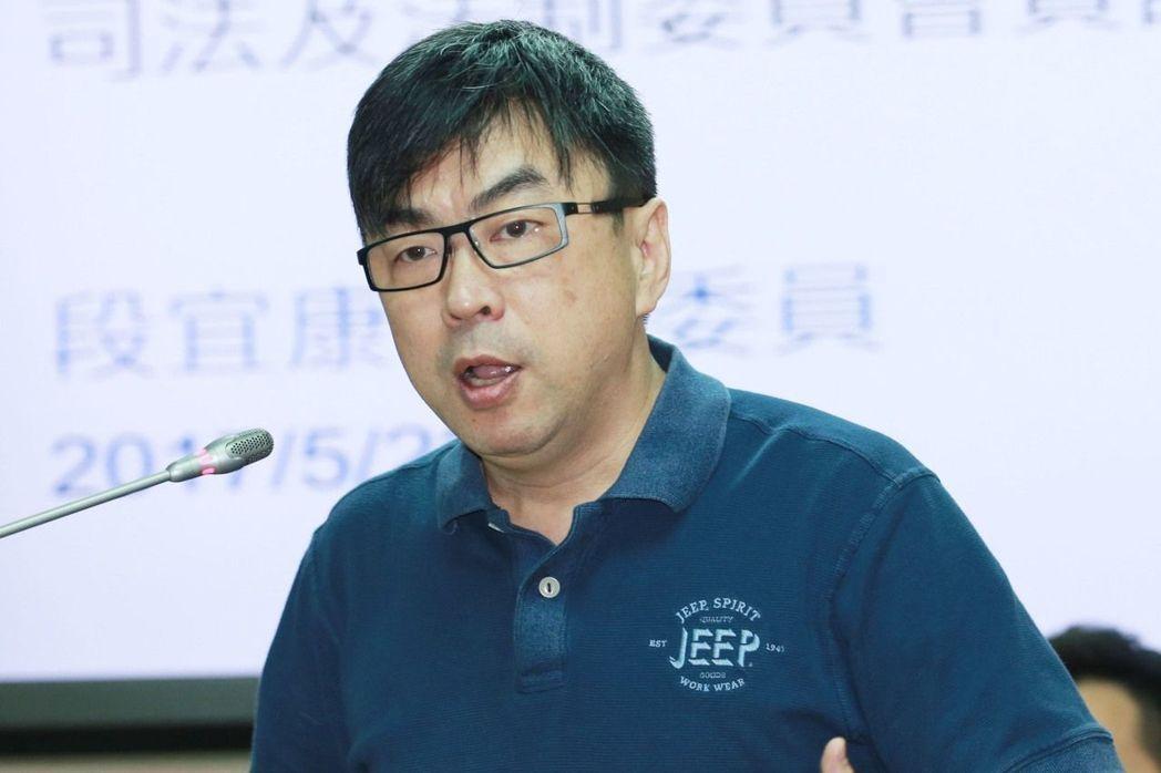 民進黨立委段宜康。聯合報系資料照片/記者黃義書攝影