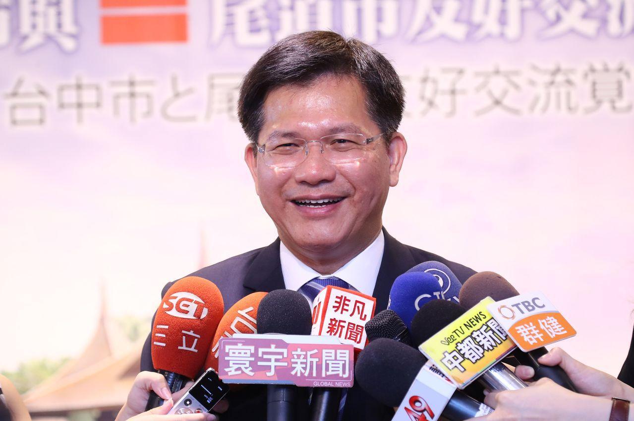 台中市長林佳龍跨溪助選被罰10萬元。(聯合報資料照片)
