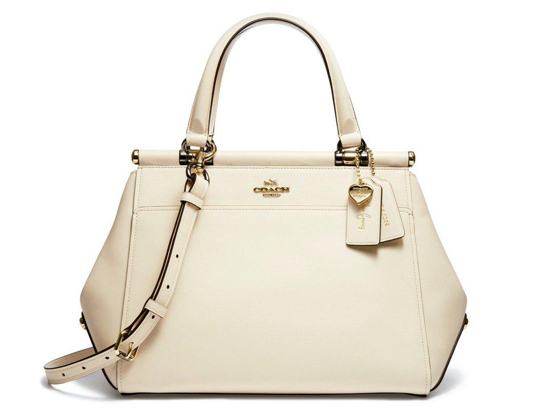 白色 Selena Grace包,19,800元。圖/Coach提供