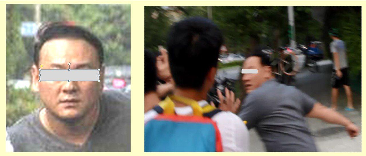 張瑋涉嫌教唆毆打學生。記者蕭雅娟/翻攝