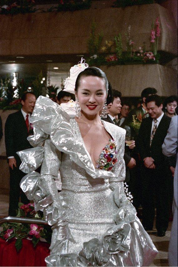 崔苔菁曾是老三台時期備受倚重的美豔女主持。圖/報系資料照片