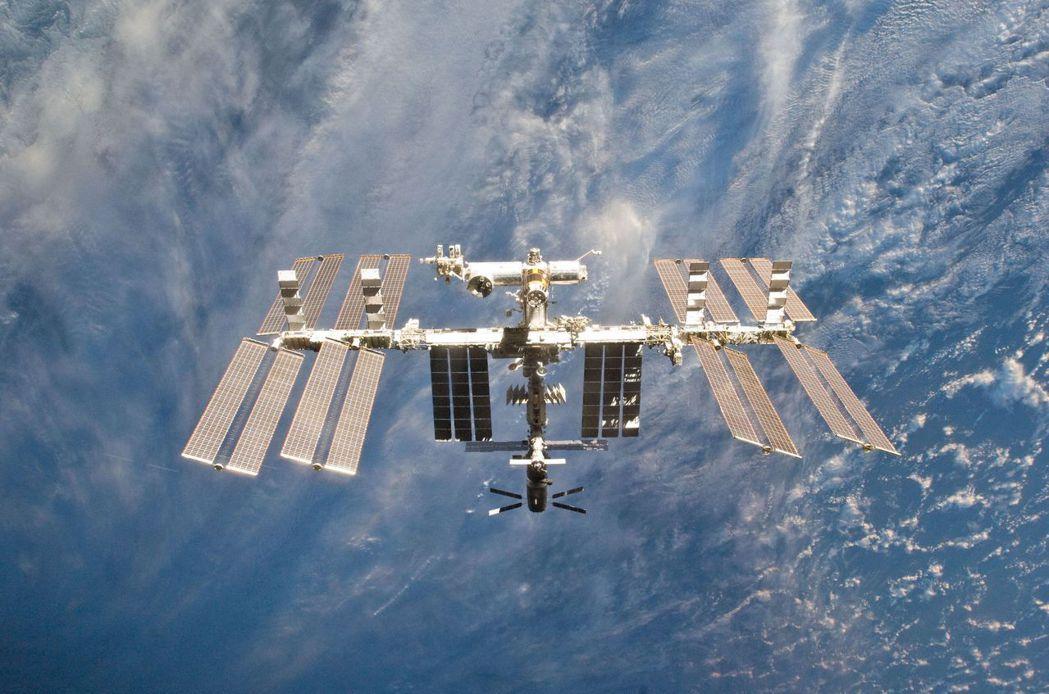 國際太空站外觀。(路透)