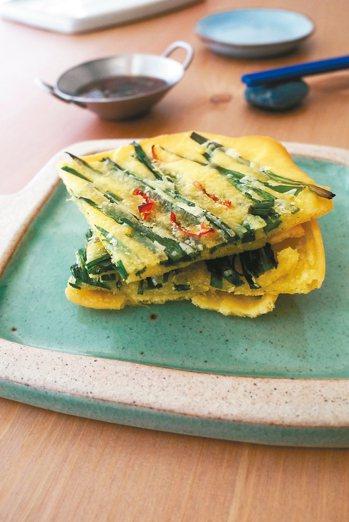 韓式韭菜煎餅 照片:布克文化/提供