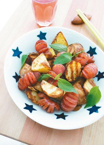 台式香腸馬鈴薯 照片:布克文化/提供
