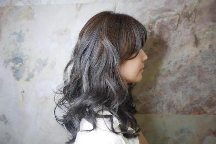 髮型創作/Aisa Chou 。圖/HairMap美髮地圖提供