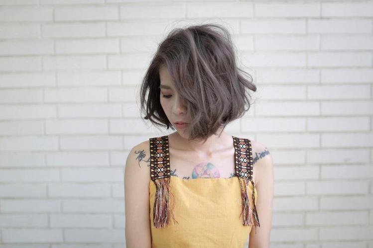 髮型創作/Carlos Yeah 。圖/HairMap美髮地圖提供