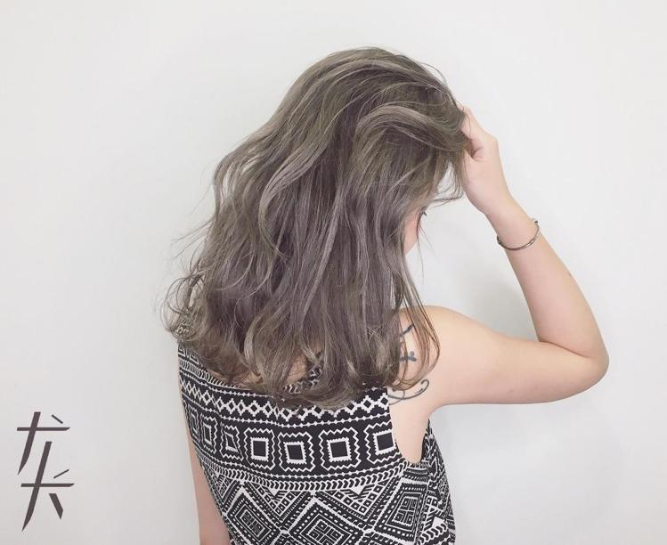 髮型創作/王豆綠 。圖/HairMap美髮地圖提供