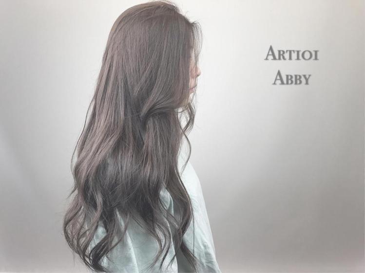 髮型創作/Abby Lai 。圖/HairMap美髮地圖提供
