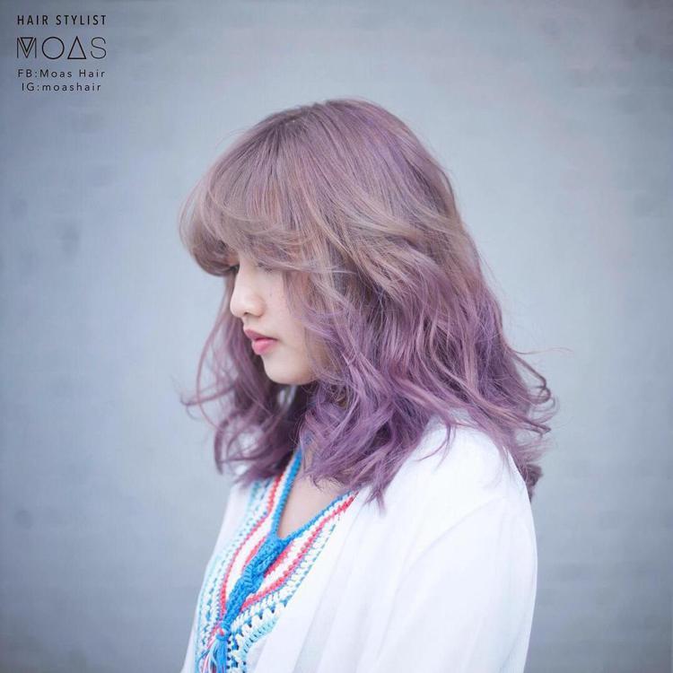 髮型創作/Moas (摩斯) 。圖/HairMap美髮地圖提供