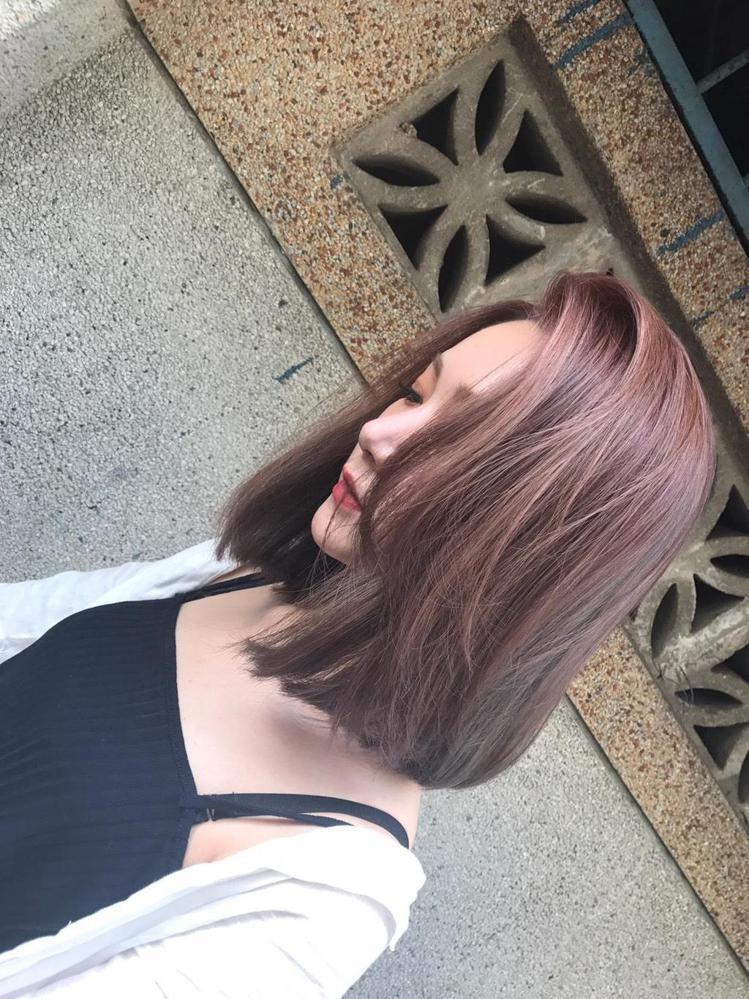 髮型創作/張菀玲。圖/HairMap美髮地圖提供