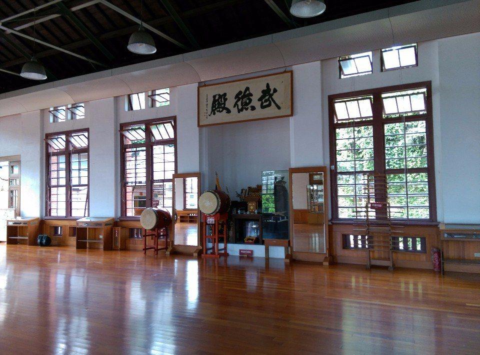 武德殿以前是學習柔道的地方。(提供/哈瑪星走讀小組)