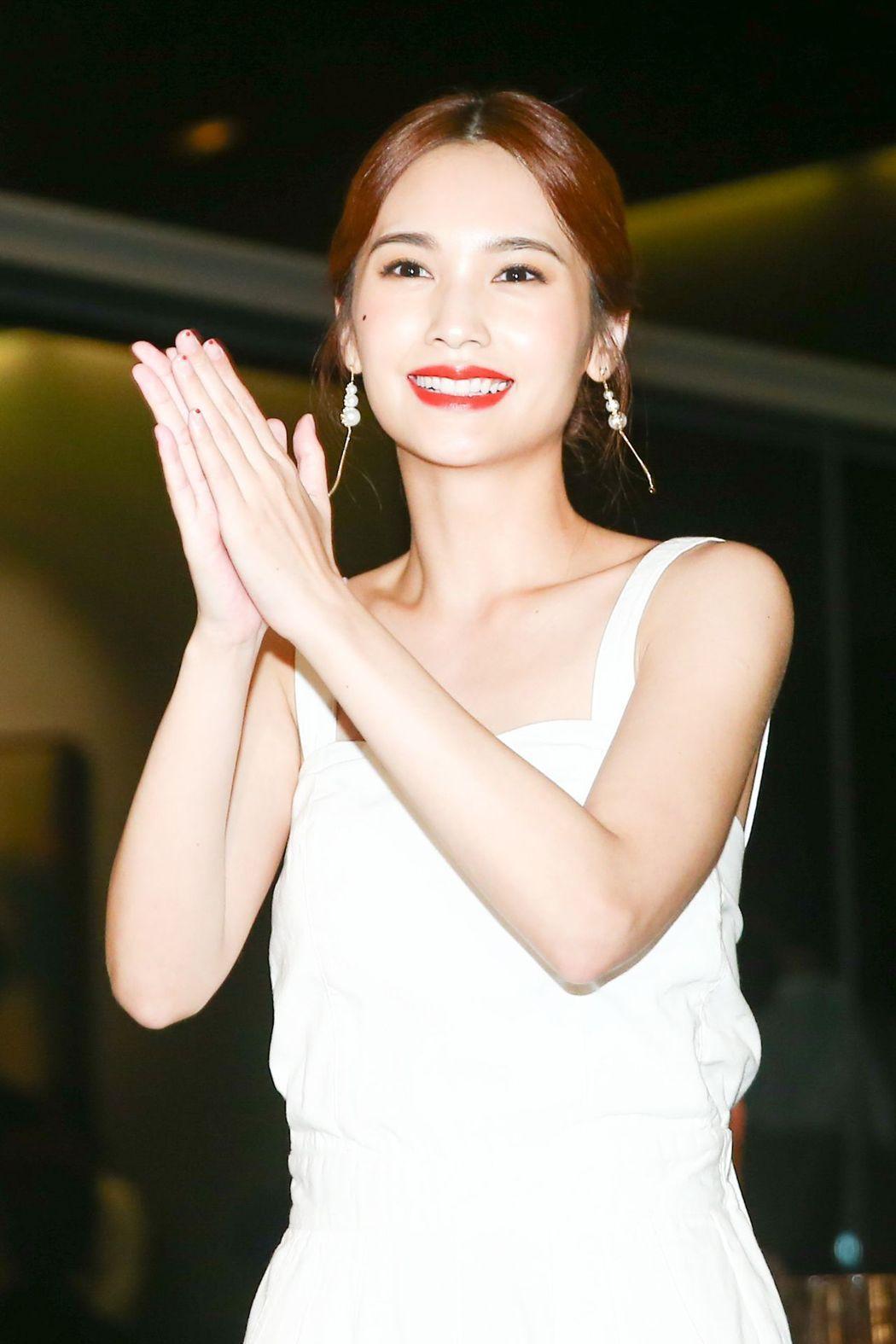 楊丞琳出席植劇場慶功宴。記者林伯東/攝影