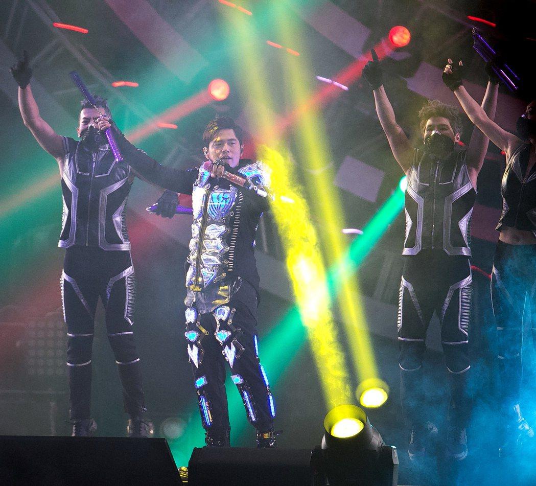周杰倫地表最強演唱會台北場最後一天。記者陳立凱/攝影