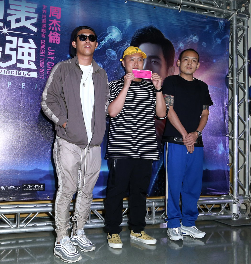 玖壹壹也來看周杰倫演唱會。記者陳立凱/攝影