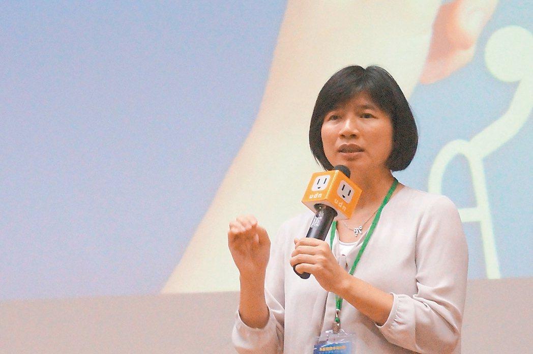台中市副市長林依瑩力推長照跨專業、包裹式支付。 圖/聯合報系提供