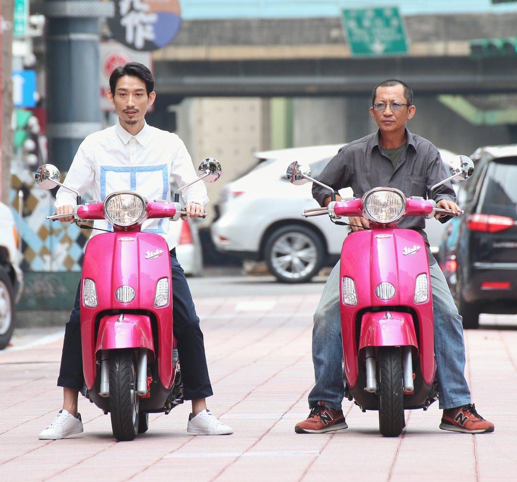「大佛普拉斯」金馬十項入圍,演員陳竹昇(左)與莊益增(右)片中演出精彩。記者陳立...