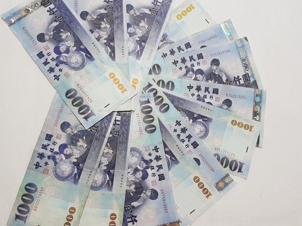 獨立公投歐元遇襲 台幣早盤貶4分
