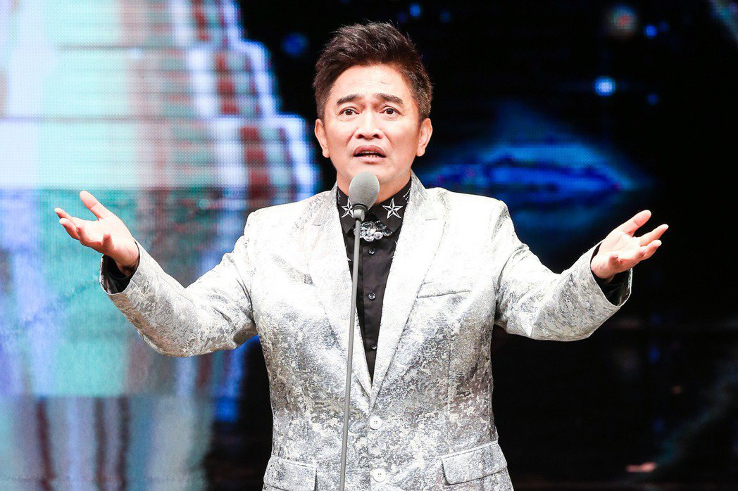 第五十屆電視金鐘獎在國父紀念館頒獎,吳宗憲擔任引言人。圖/攝影中心