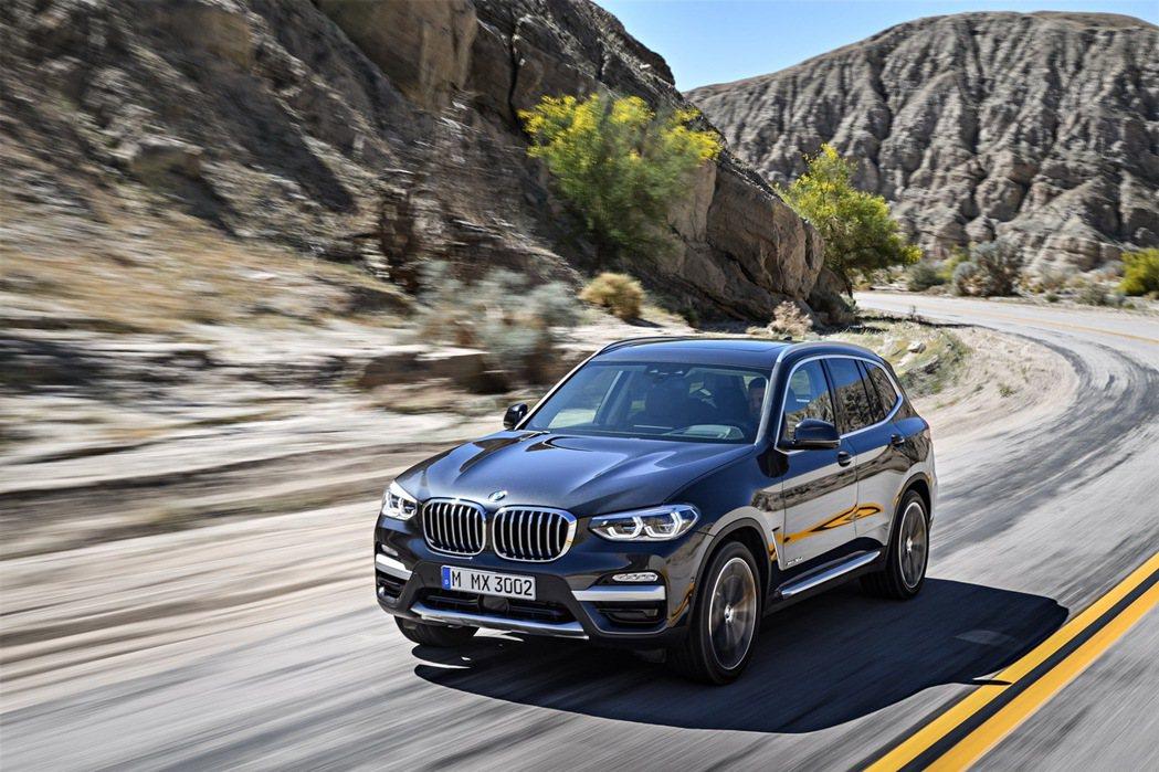 全新BMW X3豪華運動休旅預售正式展開。 圖/汎德提供