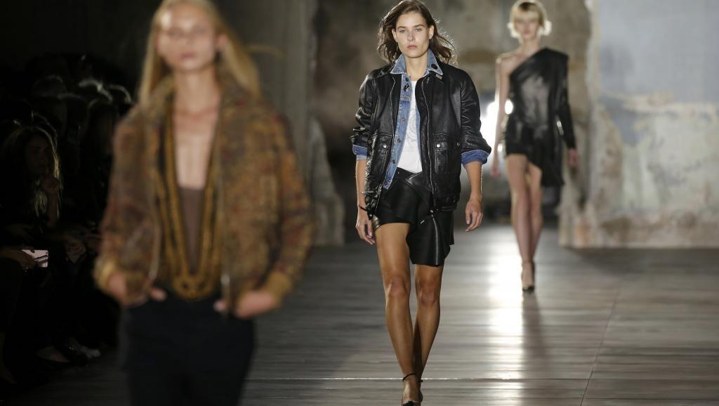時尚圈崇尚瘦就是美,模特兒纖細的身材,常被投以羨慕的眼光。 路透