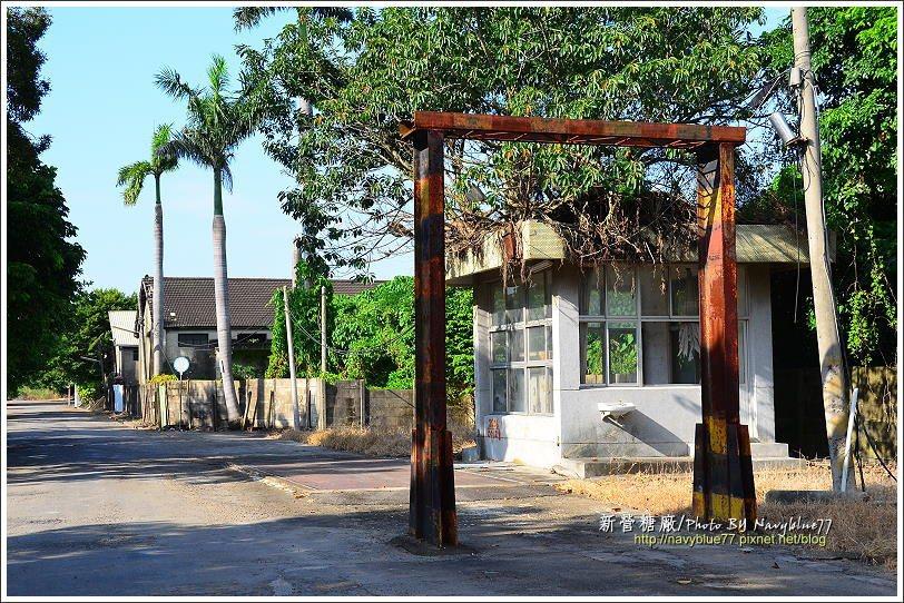 ↑這個鋼製門架,是台糖小火車滿載甘蔗時的裝載標準。