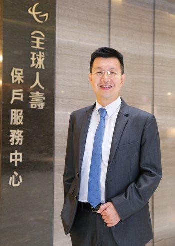 全球人壽副總經理黃宏杰。
