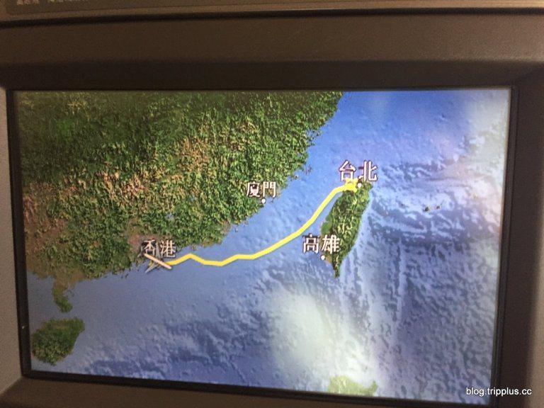 國泰航空最短的頭等艙航班,表定時間兩小時,實際飛行時間大約一小時。圖文來自於:T...