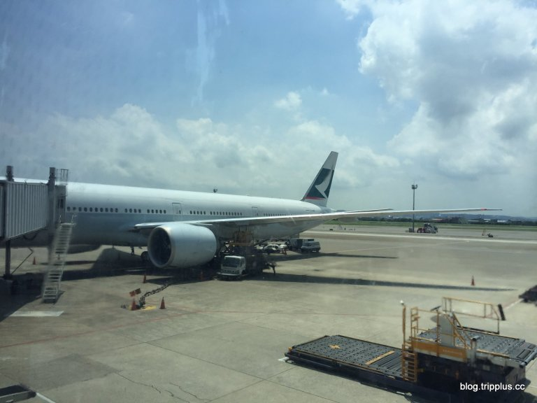 今天要搭乘的波音777機型。圖文來自於:TripPlus
