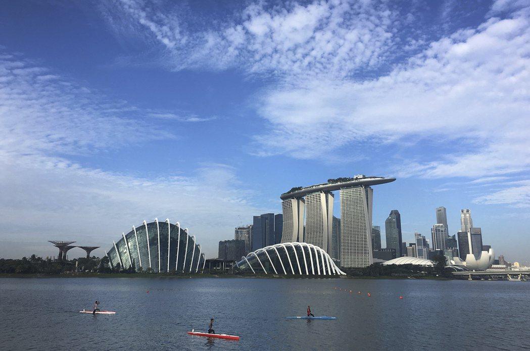 新加坡房價四年來首漲,房市景氣轉趨樂觀。(美聯社)