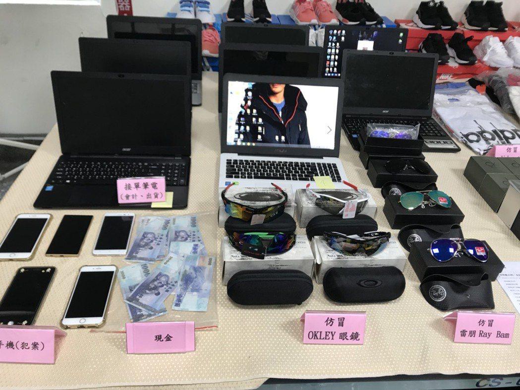 台中市郭男等人經營數十個臉書粉絲賣場,販售偽造各式品牌商品,經營2年多來,不法獲...