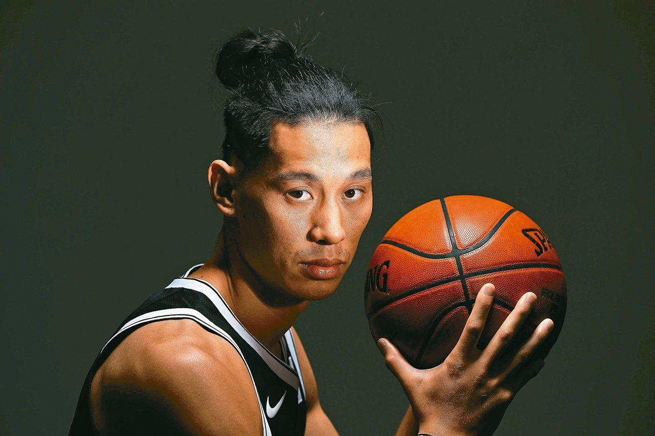 籃網隊林書豪。 法新社