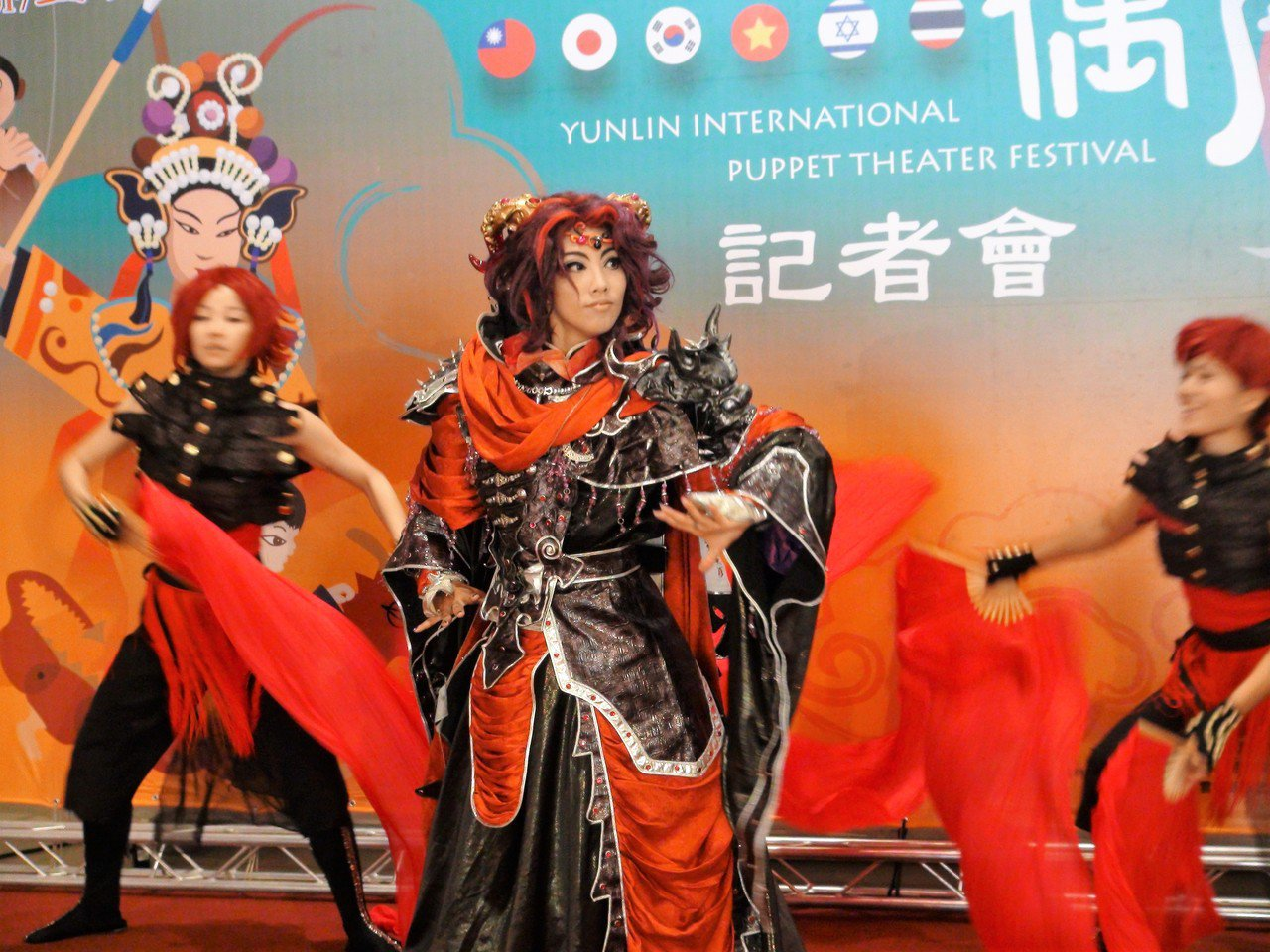 2017雲林國際偶戲節將在雲林虎尾農博生態園區登場,有國內掌中大師布袋戲演出,另...