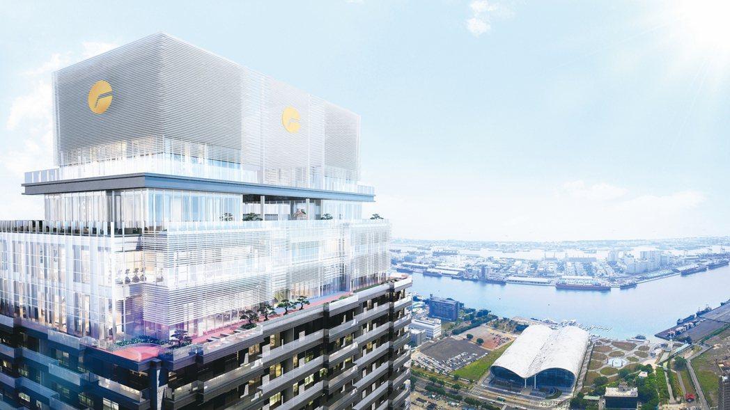 「遠雄THE ONE」68層268米高的摩天豪宅,是全球第26高、亞洲第6高,台...