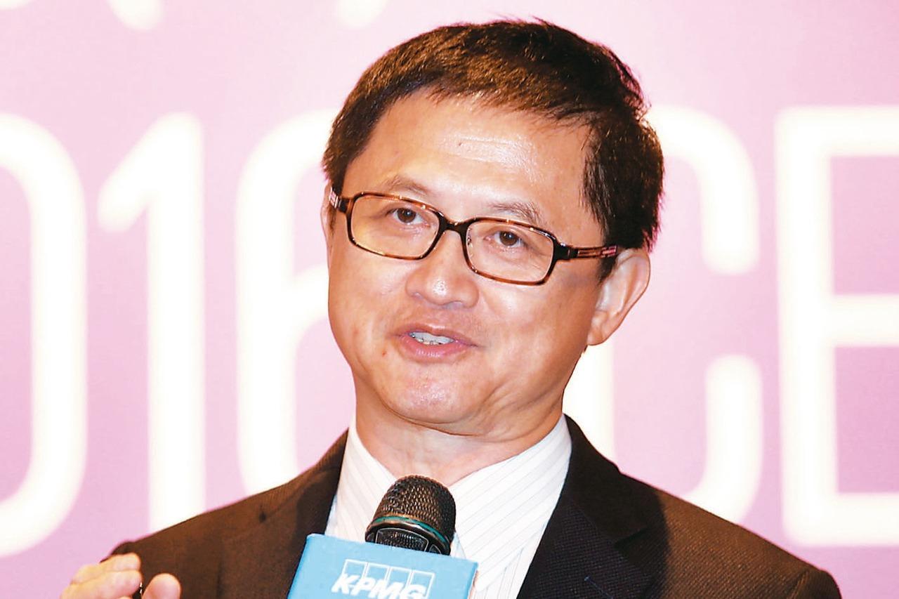 台北市電腦公會理事長童子賢。 本報系資料照
