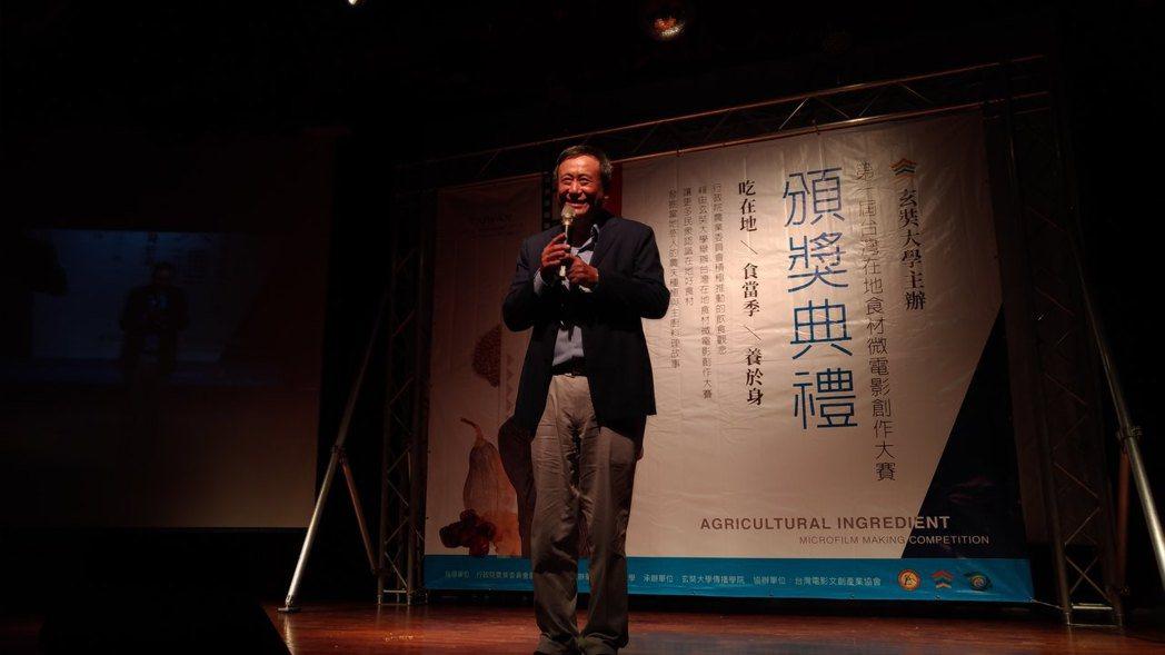 李崗導演給予參賽隊伍勉勵及評語。 業者/提供。