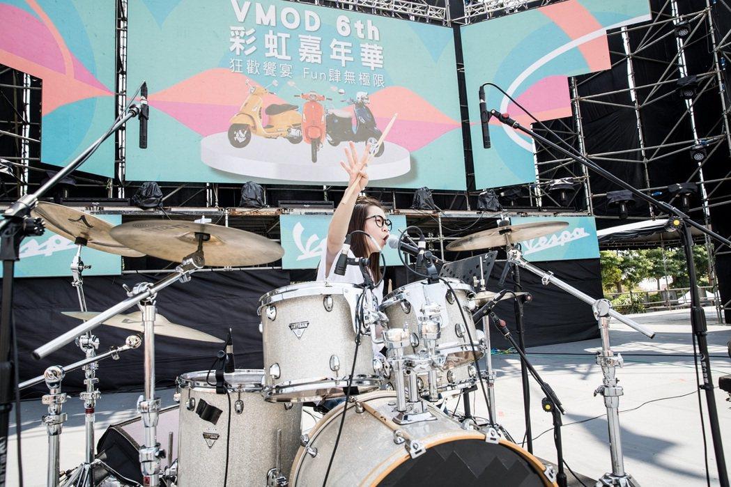 鼓手帶來精彩的Battle表演。圖/太古提供
