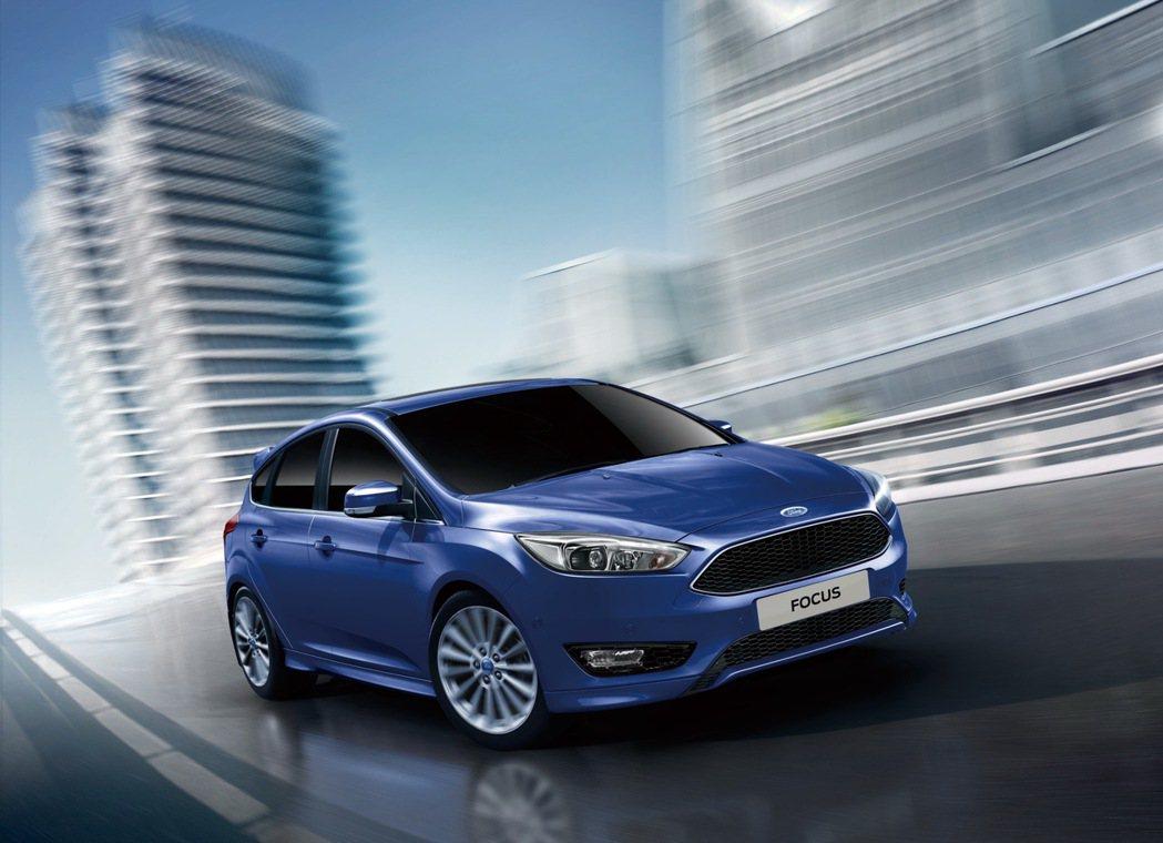 Ford Focus針對新年式推出預接活動。 圖/福特六和提供