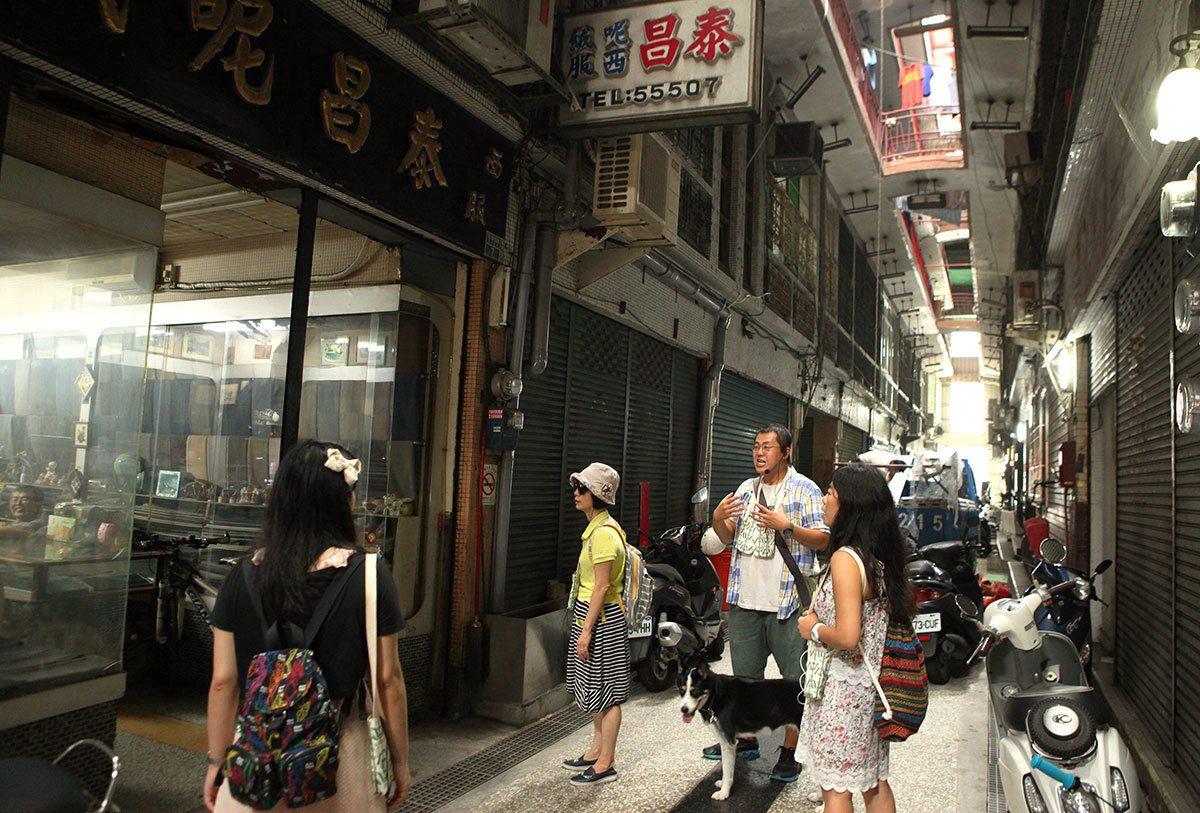 仿東京銀座商場打造的國際商場曾風光一時。