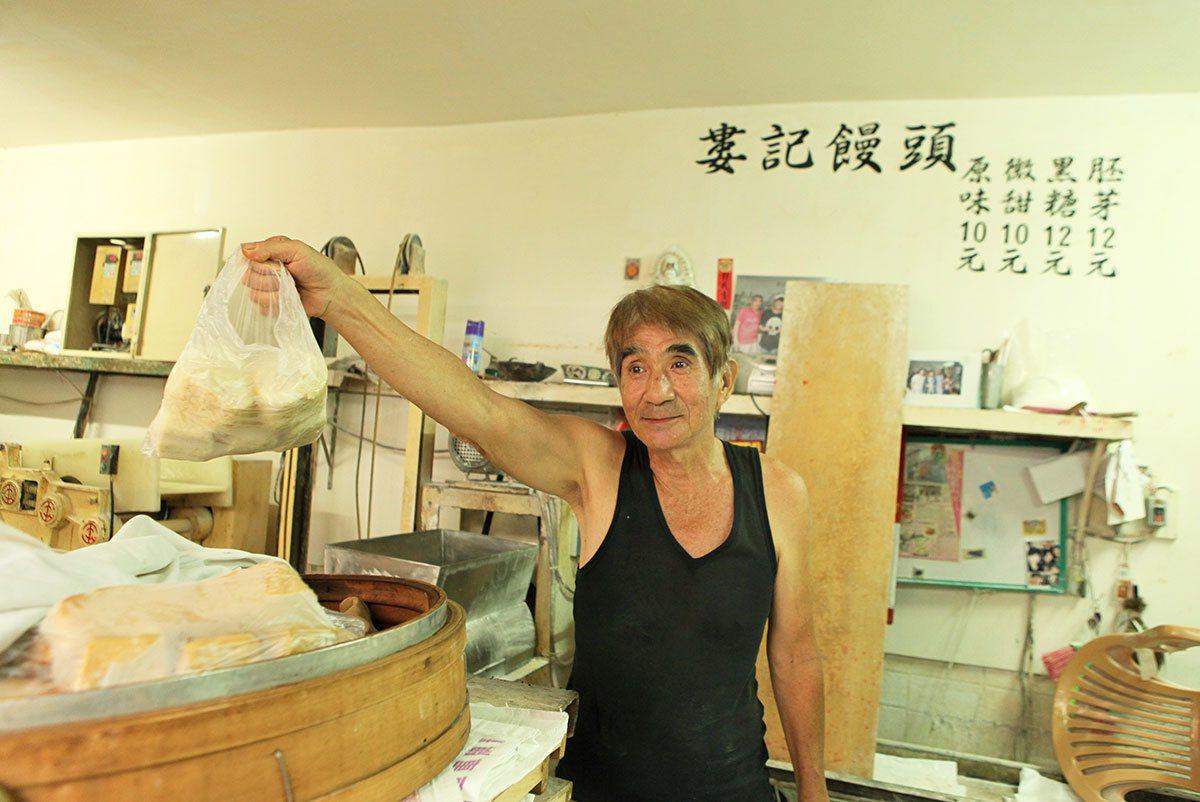 婁記饅頭店已在第一公有市場賣了63年。