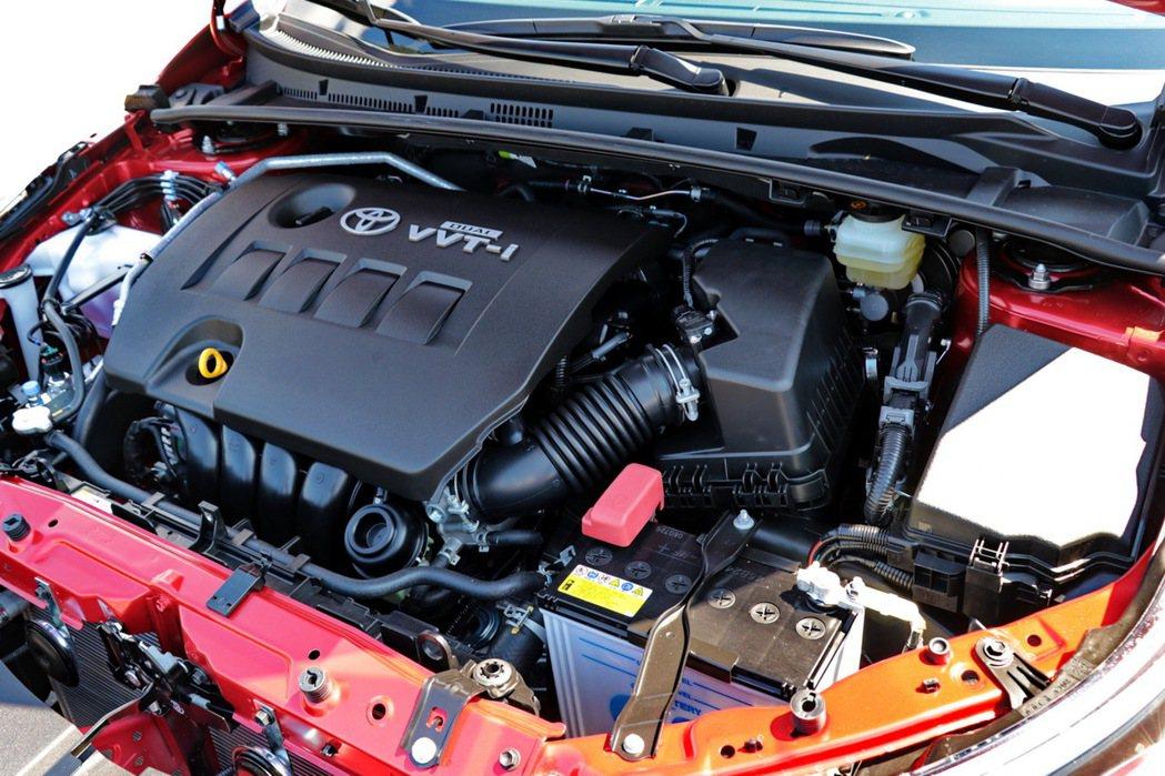 搭載Dual VVT-i引擎。 記者陳威任/攝影