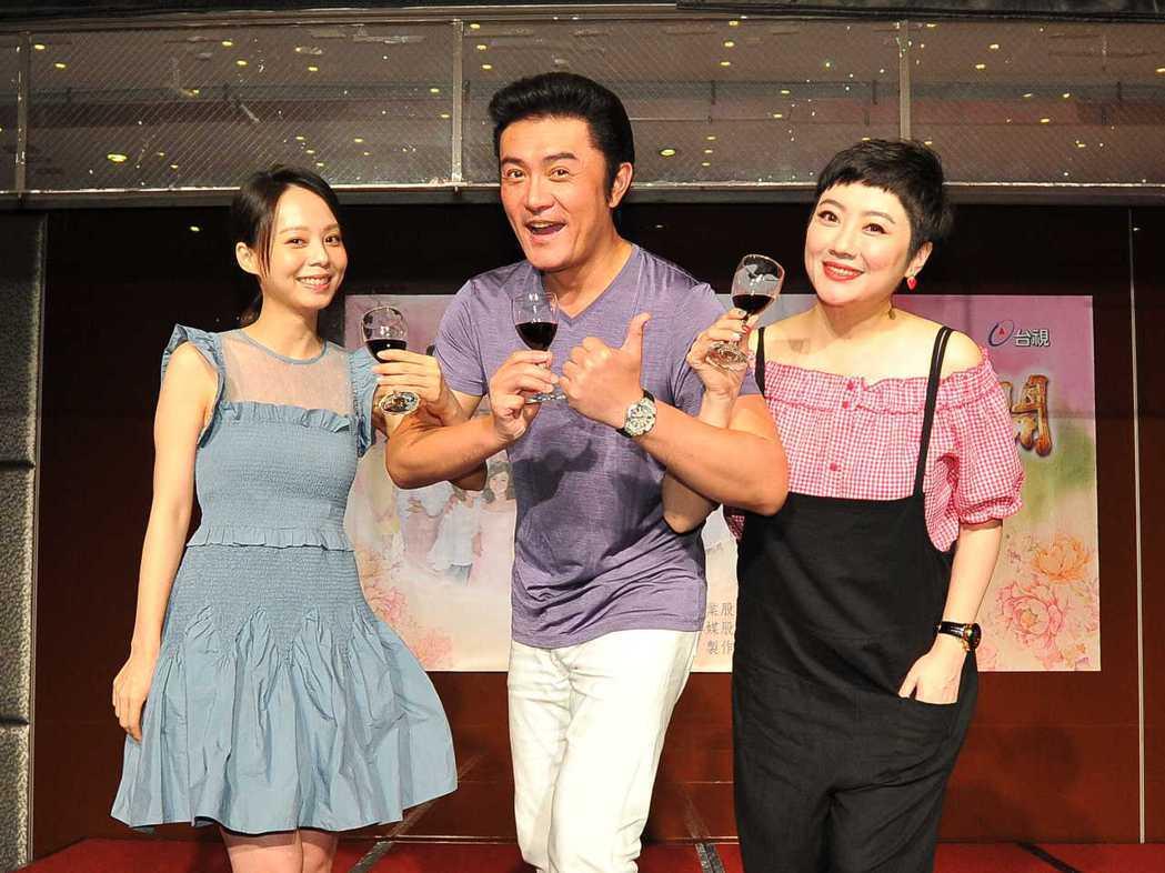 孫淑媚(左起)李㼈、劉曉憶  。圖/台視提供 (  ※ 提醒您:禁止酒駕 飲酒過