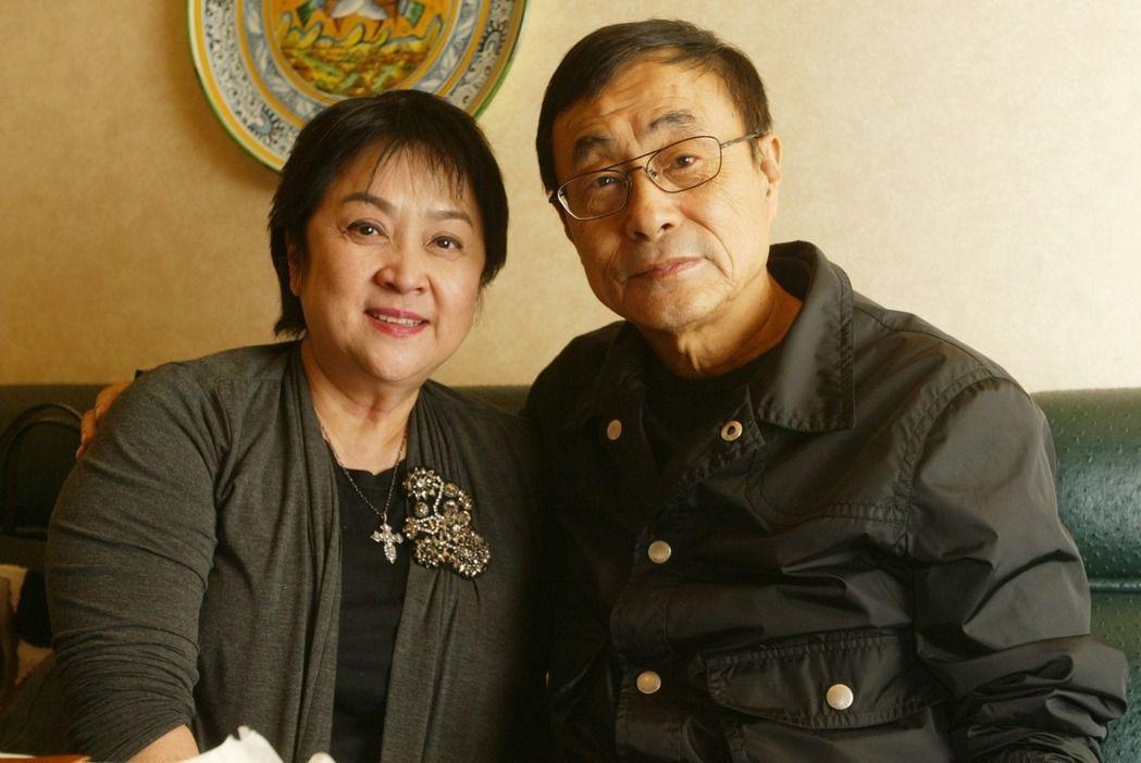 甄珍(左)與前夫劉家昌(右)。圖/聯合報系資料照