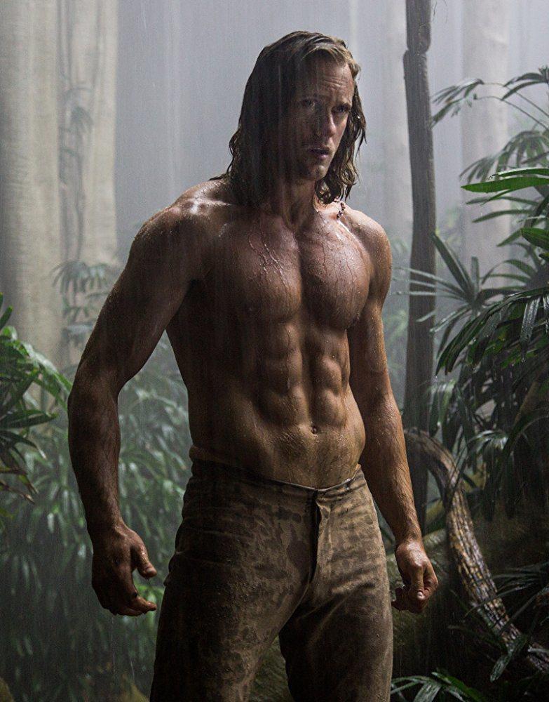 「泰山傳奇」鞏固亞歷山大史卡斯加的性感男星形象。圖/摘自imdb