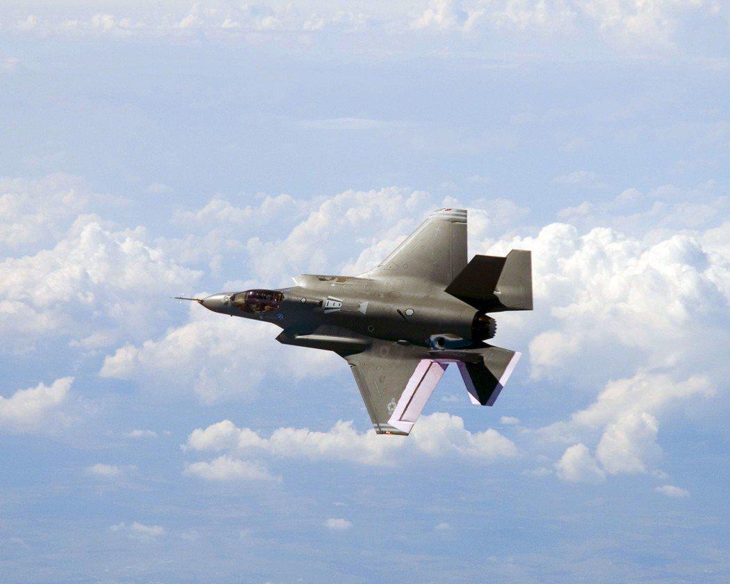 美軍F35戰機。法新社