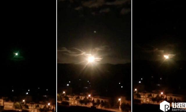 火流星劃破夜空稍縱即逝。圖/摘自銳圖
