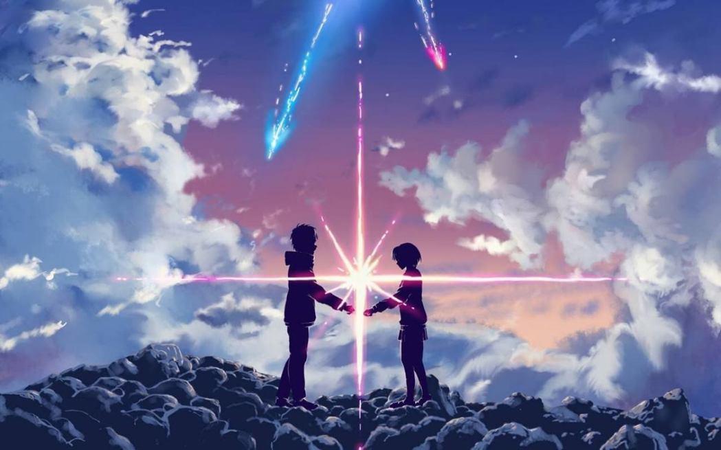大陸網民見火流星畫面後,聯想起日本動畫「你的名字」,笑稱隕石墜落後要「準備超時空...